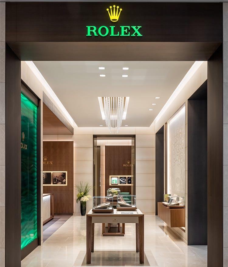 rolex storefront