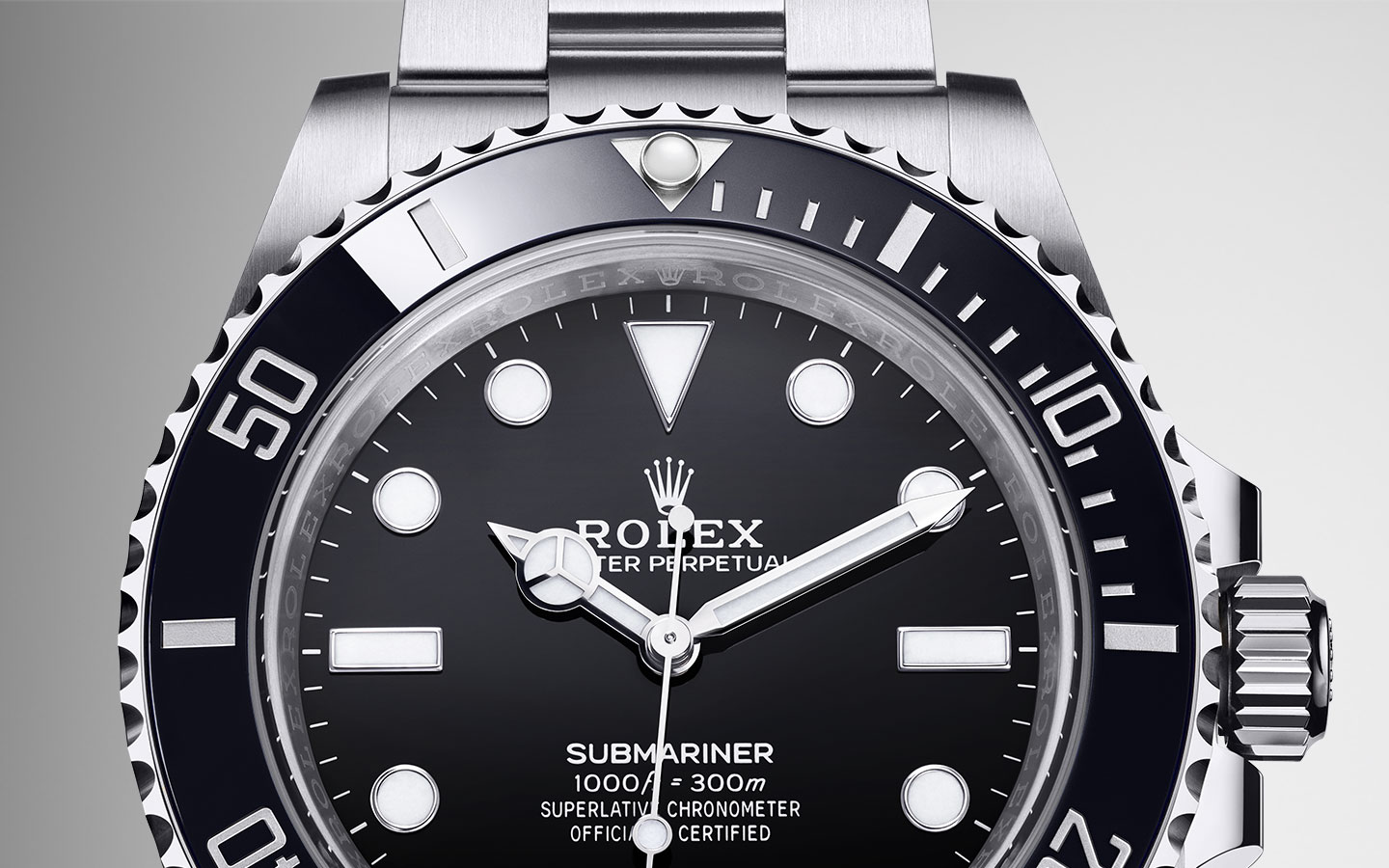 Rolex Submariner M124060-0001 Static, 41mm, Oystersteel and black
